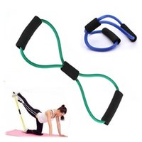 Wholesale 1 Resistance Exercise Elastic Band Tube Weight Control Fitness Equipment For Yoga Resistance Bands Weight Loss Tools