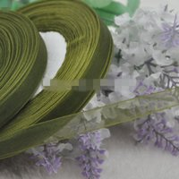 yard decorations for christmas - SALE yards quot mm Green Sheer Organza Ribbons for Christmas wedding decoration Craft Wedding Party colors