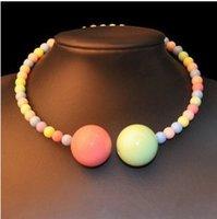 artistic necklaces - 2014 catwalk pearls big future artistic collar necklace