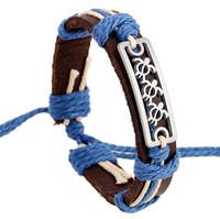 Wholesale Sea Turtle Charms Wholesale - Sea Turtle Design Bracelets Men Jewelry Charm Genuine Leather Bracelets for Women Gifts Men Bracelet New men bracelets