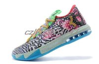 designer basketball shoes - 2015 Basketball Shoes Kevin Durant KD VI Low Cut Sports Shoe Basket Ball Boots Running Designer Shoes Cheap Drop shipping