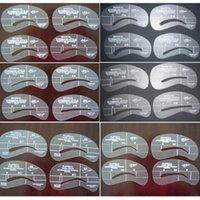 beautiful templates - Beautiful Eyebrow Grooming Shaping Card Stencil Kit Template Make Up Tool A2759
