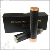 mechanical mod - New Arrival Mechanical mod Paragon Mod Clone Paragon V2 Mech Mod with Red Copper Carbon Fiber Eletronic Cigarette DHL Free