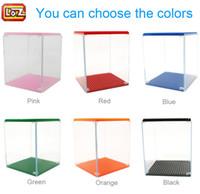 Wholesale LOZ Diamond Blocks Display Case LOZ Blocks Bricks Figures Show Box Different Colors for Choice
