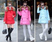 Wholesale 2015 new women s winter coat fur coat jacket hooded down jacket hooded puffer coat jacket hoodies