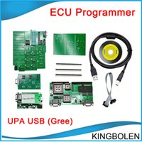 auto chip programmer - 2015 UPA USB Green With Full Adaptors V1 opular Eeprom Universal Chip Programmer auto ECU Tool DHL
