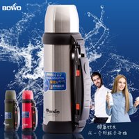 Wholesale Bowo warmers thermos bottle insulating glass thermos bottle large capacity travel Vacuum pot ml