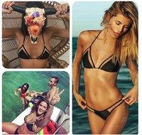 Wholesale new triangular mesh sexy bikini bikini ladies swimwear hot sell swimwear female foreign trade By DHL