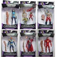 Wholesale New Guardians of the Galaxy Action Figure Toys New Super Hero Action Toy Figures Retail Box for Christmas