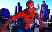 Wholesale Cartoon mascot costumes Clothing Adult Child Spider man Cartoon Costume tights