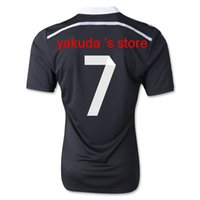Wholesale Thai Quality Champions League RONALDO Jersey rd Away Black Madrid Dragon Soccer Jerseys Football Tops Customized