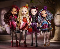 Wholesale 4pcs Genuine Original Ever After High Apple White Fashion Dolls For Girls Brand Toys For Children Christmas New Year Birthday