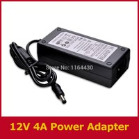 Wholesale Universal V A AC100 V to DC Power Adapter Converter Supply Charger Transformer with LED Indicator light NEW