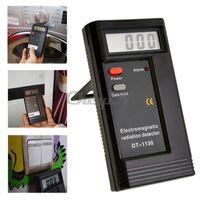 Wholesale 2013 Digital Electromagnetic Radiation Detector Sensor EMF Meter Tester LCD Electromagnetic Meter Field ERD01 order lt no tracking