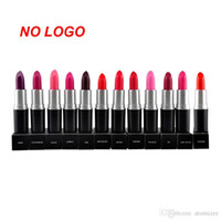 Wholesale Matte Lipstick NO LOGO Long lasting Waterproof Does Not Fade Lipstick Colors Lipstick Wholsale Cosmetic Makeup Tool