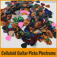 Wholesale Colorful Stylish Celluloid Guitar Picks Plectrums mm mm Assorted Mixed Color