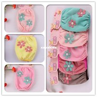 Wholesale Xayakids Kids cuff high grade double gauze sleeve two exquisite flower Baby Girl Korean paragraph sleeve cover for adults Children cuff