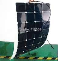 Wholesale flexible solar panel w flexible panel solar sunpower flexible solar cell w charging efficiency degree foldable