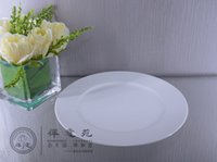 Wholesale 10 quot Flat Plate Fine Porcelain home Housewear Furnishings Kitchen supplies Tableware