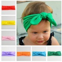 best hair photos - Hot New Arrive knot tie headband headwrap Vintage Head Wrap Photo Prop stretchy Knot Girls Hair Accessories colors best quality