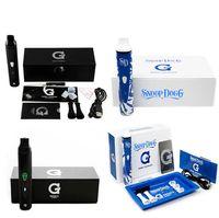 porcelain - Blue and White Porcelain G Pro Snoop Dog Kit Best Weeding Ecig Vaporizer mAH Battery Kit DHL Free