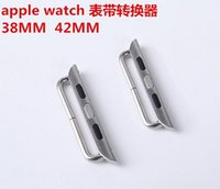 Wholesale band watchband fastener connector jockey for apple watch mm mm applewatch for iwatch wrist