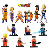 Wholesale Building Blocks Dragon Ball Z Sets Super Heroes The Avengers villain Aberdeen Minifigures Bricks Children s Gifts