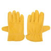 Wholesale 2016 New Men Women Hiking Gloves Outdoor Climbing Gardening Sheepskin Gloves Hand Protect Equipment