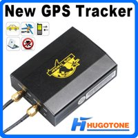 sim card vehicle gps tracker - Vehicle Quadband Cut Off Fuel Two Sim Card TK103 Car GPS Tracker GSM SMS GPRS Tracking Device With TF Card Slot