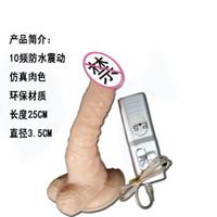 Wholesale Dildos variable speed vaginal stimulator female masturbation electric vibrating dildo seks sexo sex stimulateur vaginal penis sexe vibrador