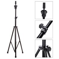 adjustable holder - Hot sale Wig Stands Adjustable Tripod Stand Holder Hairdressing Training Head Mold Mannequin Holder Salon Hair Clamp H14674
