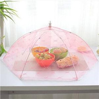 Wholesale New Novetly Kitchen Special Tools Umbrella Style Food Cover Anti Fly Mosquito Practical Home Using Food Covers
