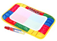 Wholesale Kids Drawing Water Mat Tablet Aqua Doodle cm Multicolour Drawing Board Pen Graffiti Canvas DHL Free