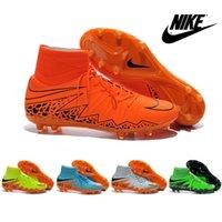 Wholesale Nike Hypervenom II Phantom Premium FG Shoes Men s Soccer Boots Cleats Laser Original Men Sports Shoes Soccer Shoes Football Shoes