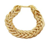 alloy chain - new arrival fashion style alloy simple snake chain collar short statement necklaces Pieces