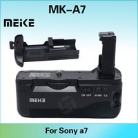 camera battery - Meike MK A7 Vertical Shooting Battery Grip holder for Sony A7 A7r A7s camera