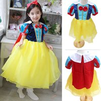 Wholesale snow white princess dress costume for kid Toddler Snow White Costume Fairy Tale dress princess dress snow white princess cosplay in stock