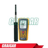 air velocity measurement - Hot Wire Anemometer GM8903 Measurement items Air velocity Air temperature Air Quantity Measurement range Air velocity m s