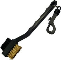 Wholesale Golf clubs brush double sided brush cleaning brush brush round head cue care experts