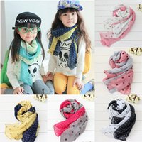 Wholesale 80 cm Children s Muffler Autumn Summer and Winter Warm Scarf Children Baby Boy Girls cotton Scarf kids warm bib scarf JIA281