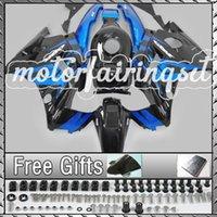 Cheap ABS Fairing Kit Fit CBR600 F2 91-94 CBR 600 1991-1994Blue Black 21N63