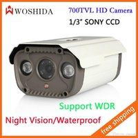 Wholesale 1 quot SONY CCD TVL CCTV Camera Array IR Night Vision Bullet Camera Waterproof IP66 Security Camera Woshida
