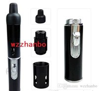 Wholesale 6 colors sneak A vape Click N Vape Mini Herbal Vaporizer smoking pipes Trouch Flame Lighter with built in Wind Proof Torch lighters