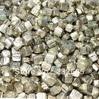 Wholesale FREE SHIP BY EMS mm mm sales promotion pyrite cube crystal mineral original rock specimen collection