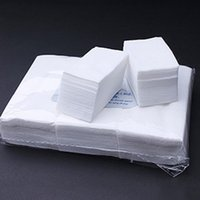 Wholesale 900pcs Professional Lint Free Nail Wipes Soft Nail Cotton Wipe Pad Dropshipping nail art hot