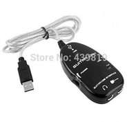 Wholesale sunweit Guitar Accessories USB Guitar Link Cable PC To Guitar USB Interface Audio Link Cable