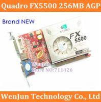 agp geforce - 2PCS High Quality NEW Geforce FX5500 M AGP DVI VGA Graphic video card order lt no track