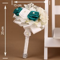 artificial flow - artificial bush flow real touch artificial flowers pearl bouquets wedding decorations silk flower wedding rose petals