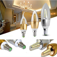 incandescent bulb - DHL AC V LED Candelabra Bulb W W W K K LED Candle Bulbs Watt Incandescent Bulb Replacement E12 E14 Candelabra Base