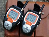 amateur cb radio - pair Digital Wrist Walkie Talkie Watch Amateur Two Way Ham CB Portable Radio Sets Comunicador Amador Walk Talk PTT Taki PMR